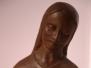 Dona de camp en bronze